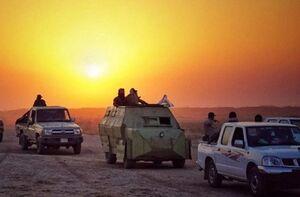 حشد الشعبی عراق مانع از نفود داعش به جنوب موصل شد