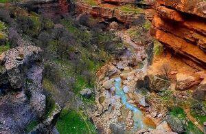 دره ای زیبا در لرستان
