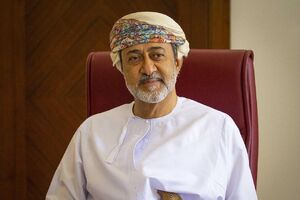 عکس / دیدار ملک سلمان با پادشاه جدید عمان