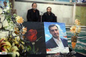 عکس/ یادبود جانباختگان حادثه سقوط هواپیمای اوکراینی