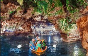 غار آبی سَهولان مهاباد آذربایجان غربی