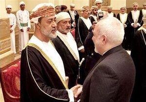 دیدار ظریف با پادشاه جدید عمان