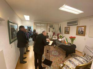 عکس/ ادای احترام جامعه دیپلماتیک ژنو به شهید سلیمانی