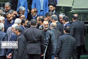 حضور سرلشکر سلامی در جلسه علنی مجلس