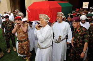 تشییع جنازه سلطان قابوس