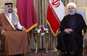 فیلم/ توافقات امیر قطر در دیدار با روحانی