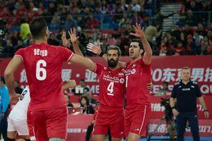امتیازآورترین بازیکن دیدار والیبال ایران و چین