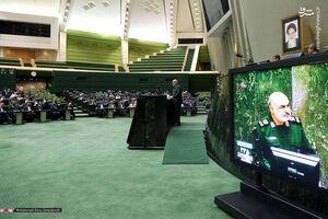 سردار سلامی در مجلس
