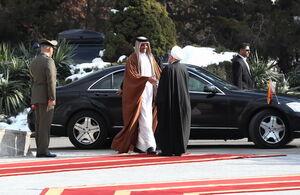 عکس/ سفر امیر قطر به تهران