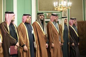 رئیس جمهور در نشست مطبوعاتی با امیر قطر