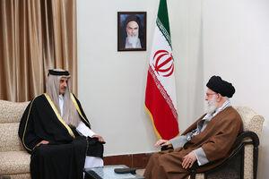 بازتاب رسانهای سفر شیخ تمیم به تهران