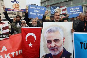 تجمع ضد آمریکایی در آنکارا پایتخت ترکیه