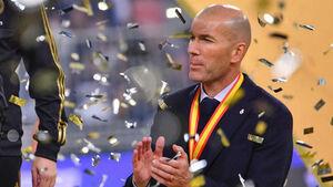 واکنش زیدان به قهرمانی رئال در سوپر جام