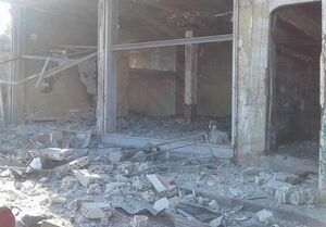 انفجار در مقر اداره اطلاعات نیروی هوایی سوریه در درعا