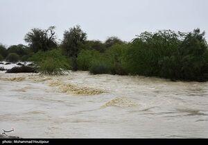 عمق آبگرفتگی برخی مناطق سیلزده سیستان و بلوچستان به ۸ متر میرسد