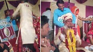 واکنش شدید داماد به شوخی بی موقع فامیل عروس! +فیلم