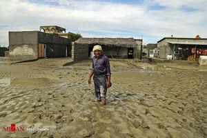 تصاویر جدید از خسارات ناشی از سیل در جاسک