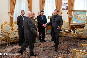 عکس/ دیدار «نخست وزیر سوریه» با شمخانی