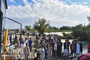فیلم/ امدادرسانی نیروی دریایی سپاه به سیلزدگان