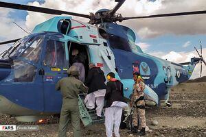 امدادرسانی ارتش و سپاه به سیل زدگان