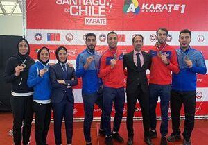 سومی ایران در لیگ جهانی کاراته وان