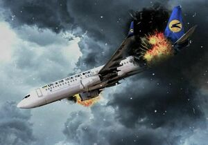 فیلم/ ورود اجساد شهروندان اوکراینی سانحه هوایی به کییف
