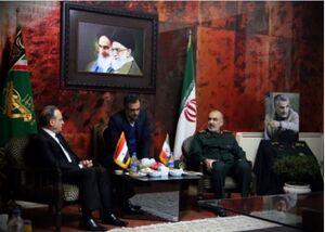 دیدار سرلشکر سلامی با نخست وزیر سوریه