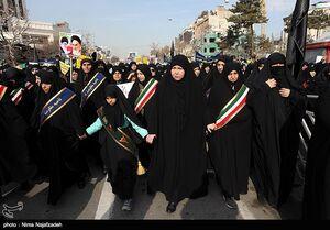 عکس/ راهپیمایی مردم مشهد در حمایت از سرداران مقاومت