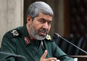 سردار «رمضان شریف» سخنگوی سپاه پاسداران انقلاب اسلامی ایران