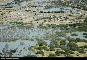 عکس/ خسارات سیل در مناطق سیل زده سیستان و بلوچستان