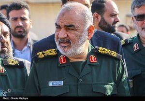 فیلم/ بازدید فرمانده کل سپاه از مناطق سیلزده