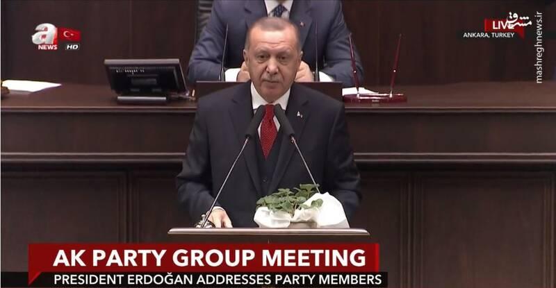 اردوغان، دولت سوریه را به اقدام نظامی تهدید کرد