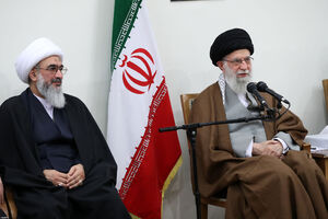 عکس/ دیدار اعضای ستاد کنگره شهدای بوشهر با رهبر انقلاب