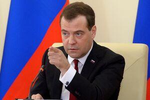 دمیتری مدودف نخست وزیر روسیه