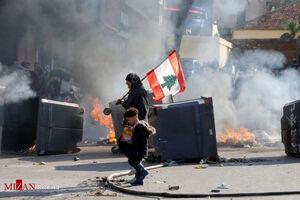 ادامه اعتراضات در لبنان با وجود کرونا