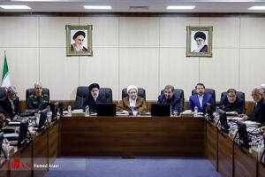 عکس/ جلسه امروز مجمع تشخیص مصلحت بدون بحث FATF