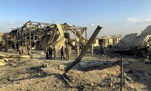 خسارات سنگین به مرکز پهپادی آمریکا در حمله موشکی سپاه +عکس