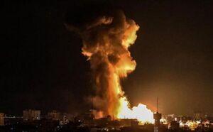 حمله جنگندهها و پهپادهای اسرائیلی به مناطقی در غزه