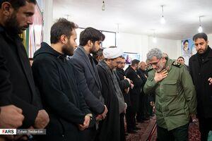عکس/ حضور شخصیتها در مراسم یادبود ابومهدی