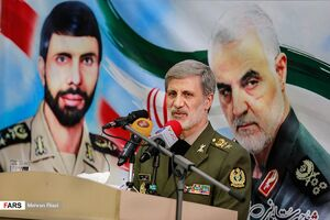 عکس/ وزیر دفاع در دانشگاه افسری امام علی(ع)
