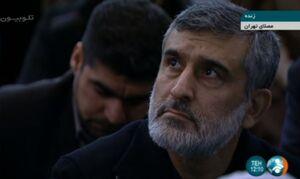 عکس/ حضور سردار حاجی زاده در نمازجمعه تهران