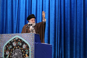 عکس/ اقامه نماز جمعه به امامت رهبر معظم انقلاب