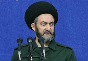فیلم/ واکنش امام جمعه اردبیل به تبریک روز تولد رهبرانقلاب