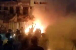 چهار انفجار مرکز بغداد را لرزاند