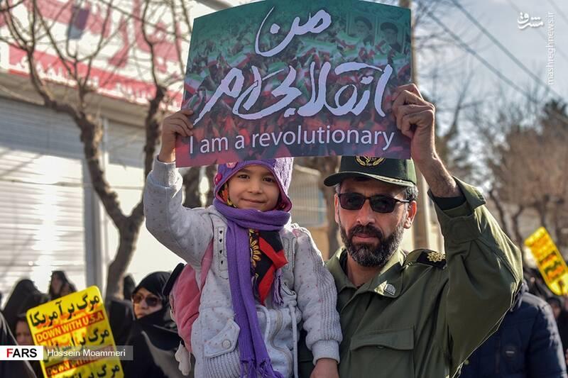 راهپیمایی حمایت از اقتدار نظام در بجنورد