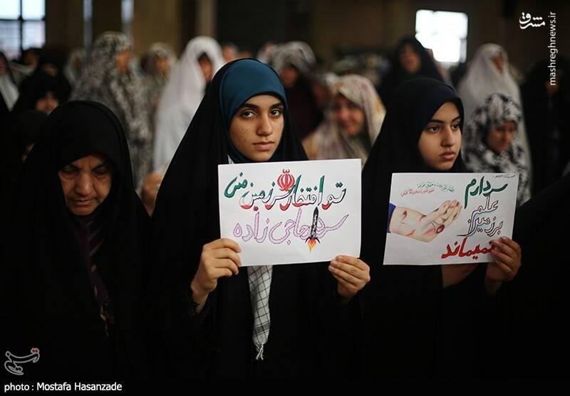 راهپیمایی حمایت از اقتدار نظام در گرگان