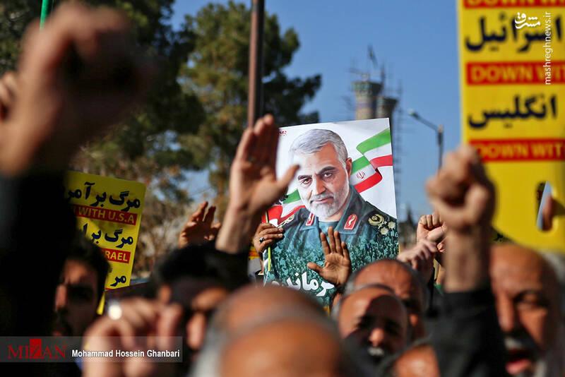راهپیمایی حمایت از اقتدار نظام در کرمان