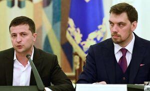 زلنسکی استعفای نخست وزیر اوکراین را نپذیرفت