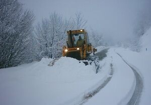 اخطاریه بارش برف و یخبندان در ۸ استان
