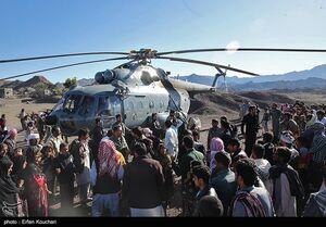 فیلم/ وضعیت امدادرسانی به سیلزدگان سیستان و بلوچستان